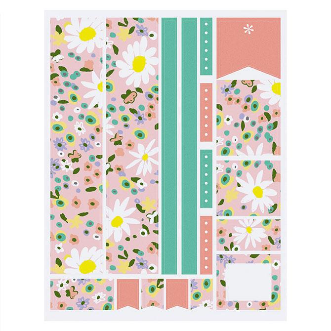 Floral Festival Sticker Sheet